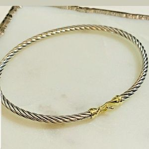 David yurman authuntic 18k ss bracelet
